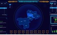 大屏 青浦农业农村信息共享平台