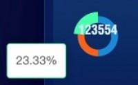 echarts显示百分比